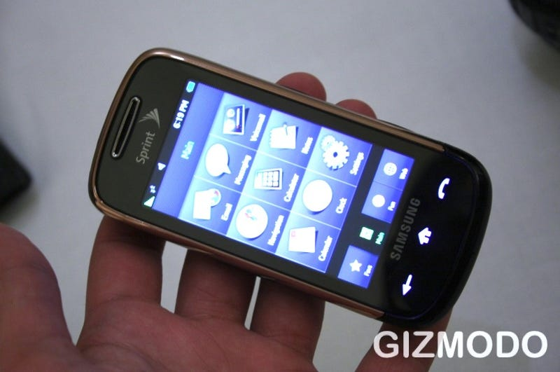 Illustration for article titled Hands-On: Samsung Instinct S30 Promises Faster Internet Browsing and Advanced Touchscreen