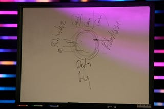 Illustration for article titled Caption Contest: Steve Ballmer's Whiteboard From All Things Digital