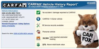 "Illustration for article titled Couple Denied Trade Because CarFax Revealed ""Total Loss"" Six Years Late"