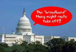 Illustration for article titled Congress Tells Off FCC, Expects Full Count of Broadband Households