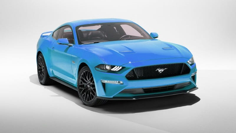 What if...The 2018 Mustang Came in Grabber Blue?