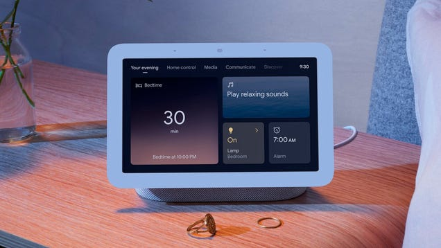 Google s New Nest Hub Tracks Your Sleep From Your Nightstand, No Wearables Required