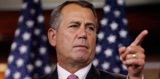 House Speaker John Boehner (Chip Somodevilla/Getty Images)