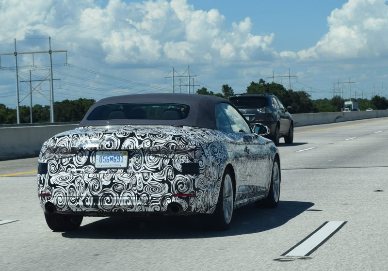 Illustration for article titled New Audi Cabrio?