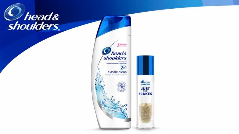 Illustration for article titled Inclusivity Win! Head & Shoulders Will Begin Selling Pre-Shed Skin Flakes For People Who Don't Have Dandruff But Have Always Wanted To Try Head & Shoulders