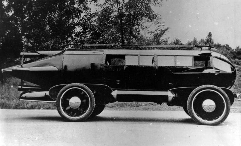 Illustration for article titled The 1929 Rocket Car of Upstate New York