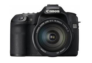 Illustration for article titled Canon EOS 50D Official: 15-Megapixel Prosumer DSLR Is First With Digic 4 Processor