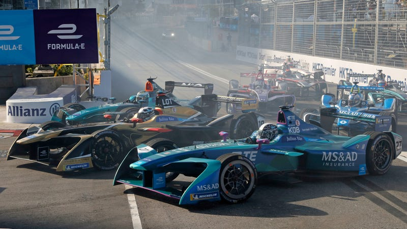 Illustration for article titled Please, Formula E, Stop Trying So Hard To Appeal To The Youths