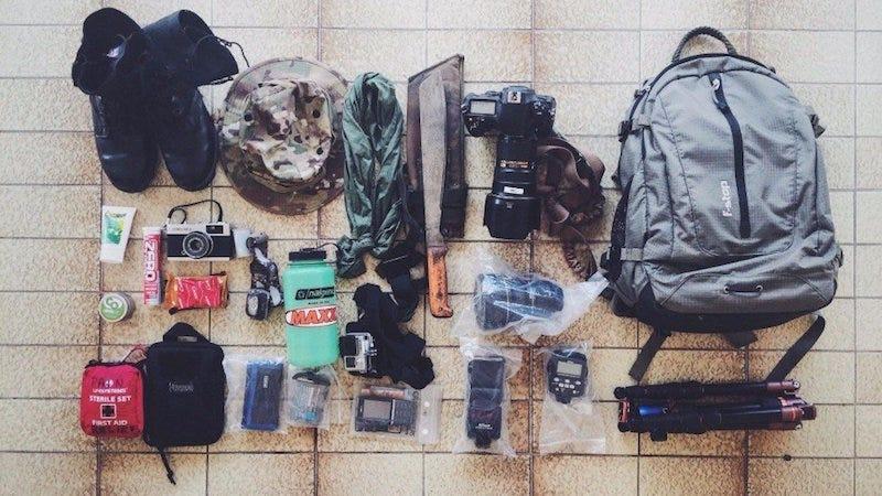 The Army Photographer's Bag