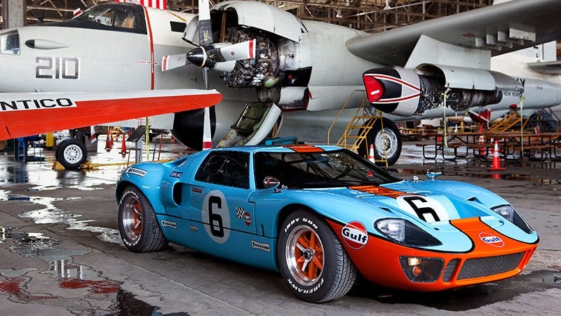 Watch This And Learn How To Drive A Gt40