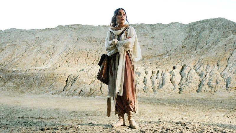 Margo (Summer Bishil) goes on a desert quest—that actually took place in a quarry in Canada.