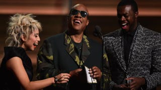 Stevie Wonder Proves During Grammy Presentation That Inclusiveness