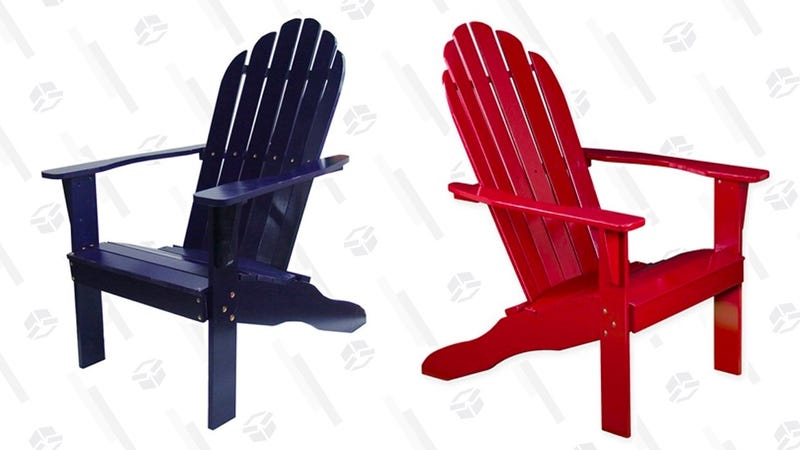 Superbe Adirondack Chairs | $65 | Woot Graphic: Erica Offutt