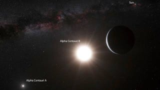 Illustration for article titled An Earth-Sized Planet Has Been Discovered in Alpha Centauri, the Star System Closest to Us