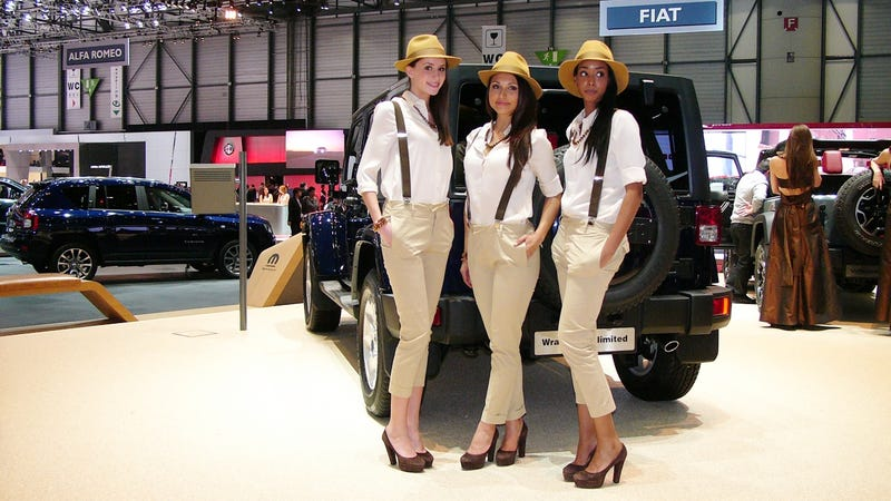 Illustration for article titled Jeep Knows How To Dress Hostesses