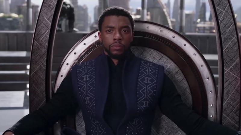 All hail the king of Wakanda.