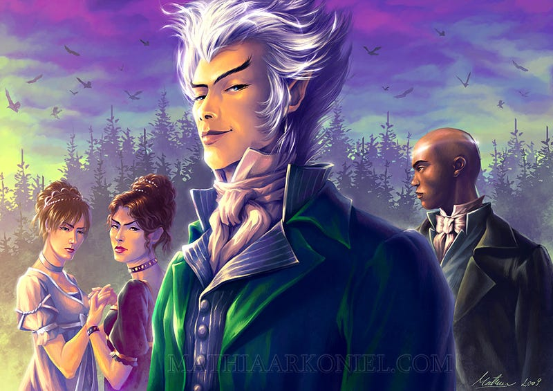 Illustration for article titled The Jonathan Strange & Mr. Norrell TV show starts filming this summer!