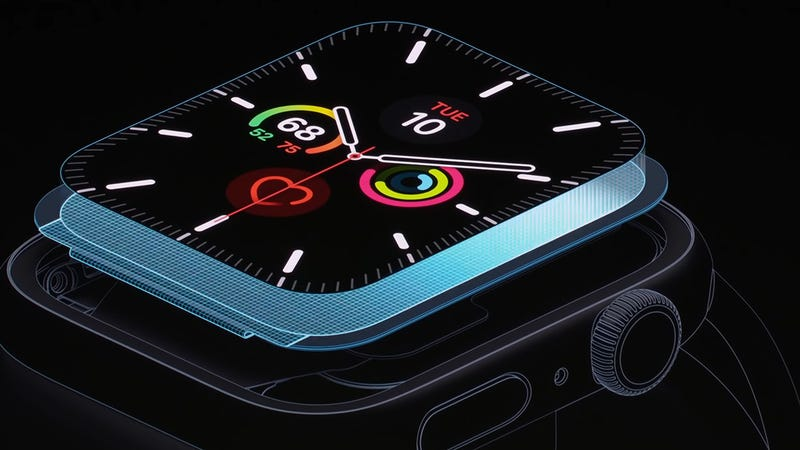 Illustration for article titled The Clever Tech Powering the New Apple Watch's Always-On Display