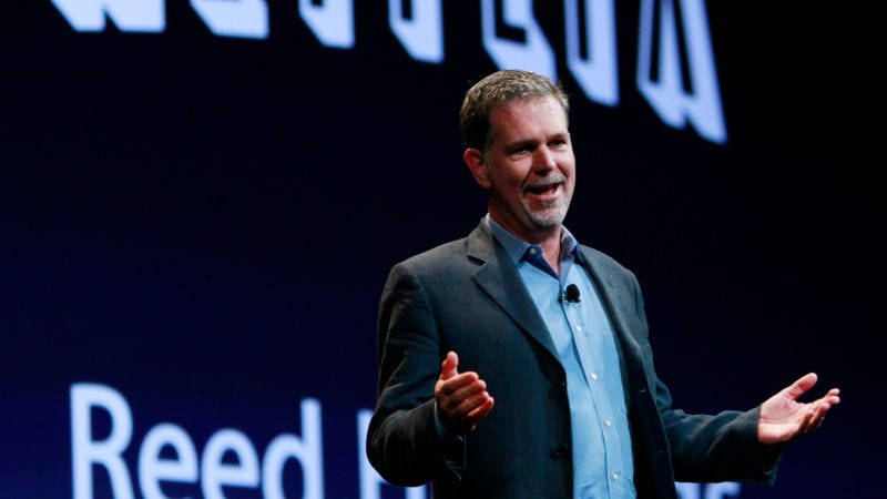 El CEO de Netflix, Reed Hastings. Foto: Paul Sakuma (AP)