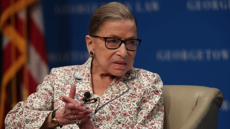 Illustration for article titled Ruth Bader Ginsburg Promises She Is Going to Be Just Fine