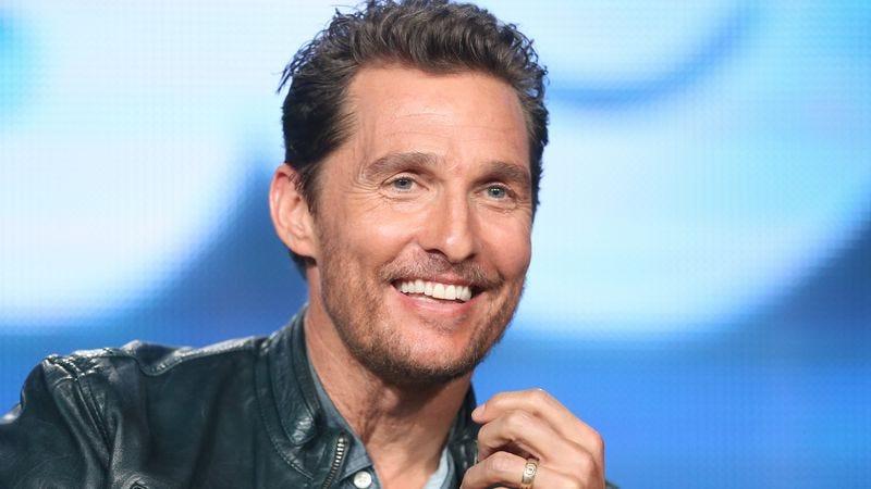 Pictured: Matthew McConaughey's non-villainous mug (Photo: Getty Images)