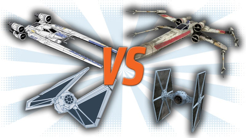 Illustration for article titled How Do The New Spaceships In Rogue OneCompare With Classic Star WarsShips?