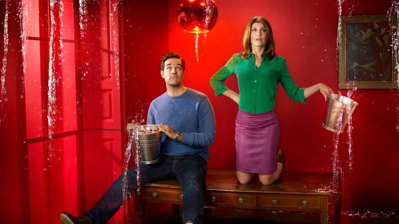 Illustration for article titled Rob Delaney says Catastrophe is definitely getting a second season