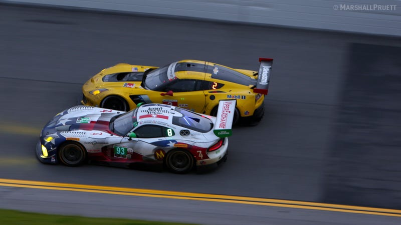 Illustration for article titled RACER's live Rolex 24 coverage continues