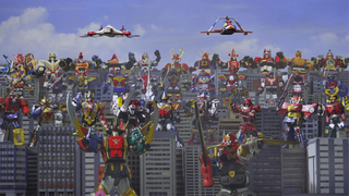 Illustration for article titled The 15 Weirdest Super Sentai Giant Robots