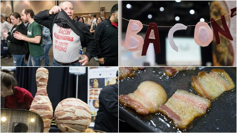 Photos: (Top left, top right, bottom left) Peter Tsai, (bottom right) Ben Collins-Sussman / courtesy of Baconfest