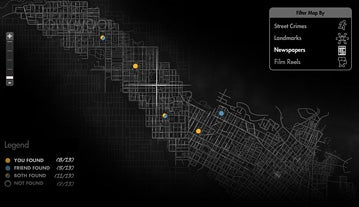 Illustration for article titled How Large is L.A. Noire's Map?