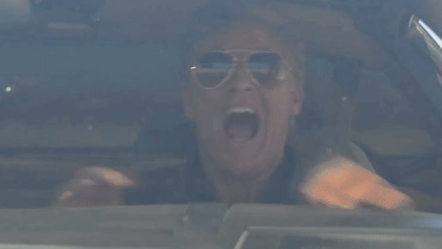 This Is Exactly How Much David Hasselhoff Likes Kitt From