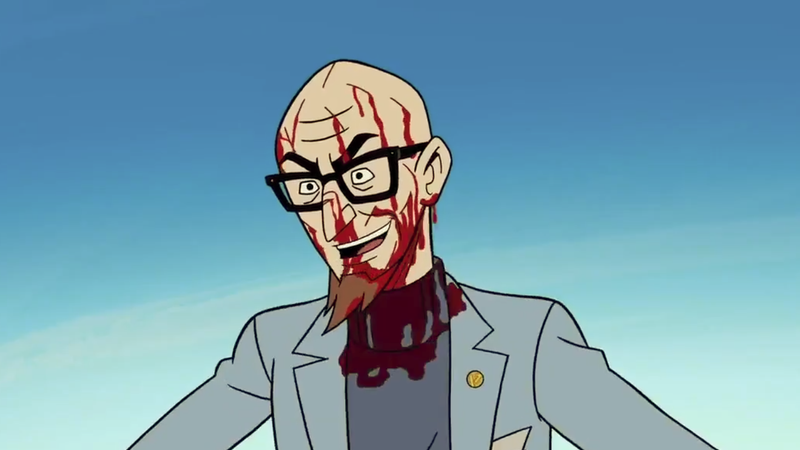 Illustration for article titled NewVenture Bros.trailer celebrates its scary monsters, super creeps