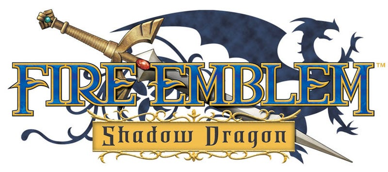 Illustration for article titled Fire Emblem: Shadow Dragon: New Screens, Old Logo