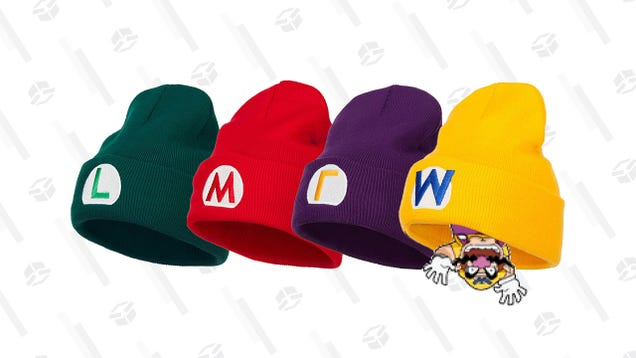 Grab a Vibrant Mario, Luigi, Wario, or Waluigi Beanie for $19 When You Stack These Discounts