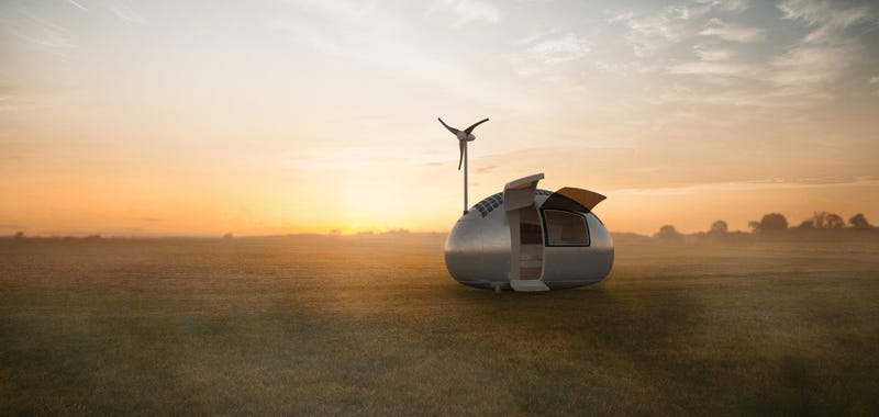 Illustration for article titled You Can Take this Little Wind and Solar Powered Home Anywhere