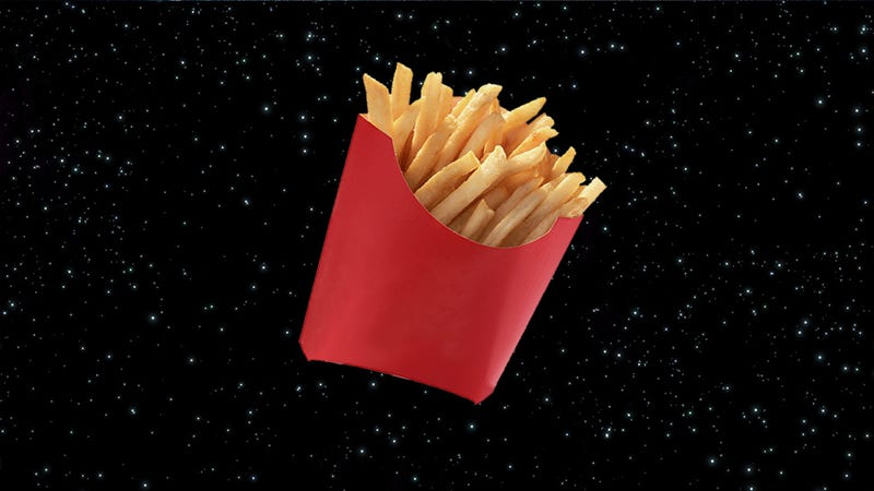 Illustration for article titled Science Finds the Universe's Best French Fries Would Come From Jupiter
