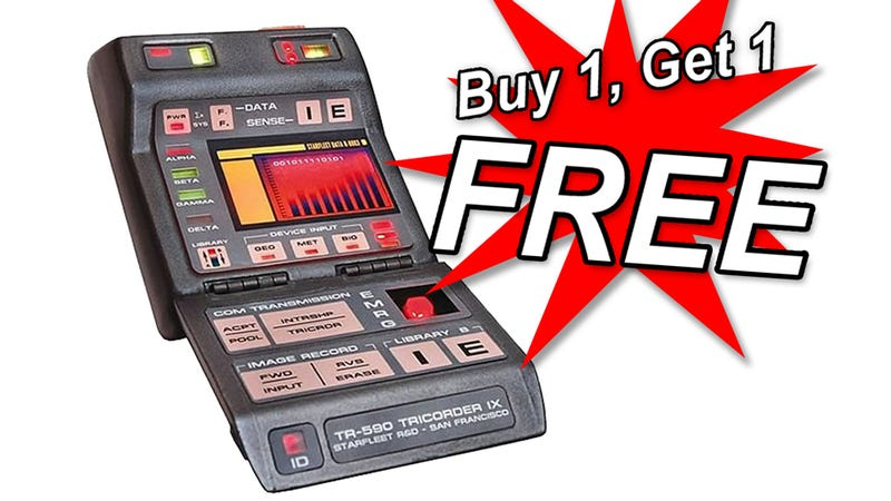 Illustration for article titled Fraudster Busted for Selling Fake Star Trek Tricorder