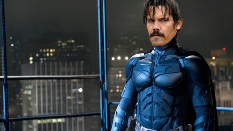Illustration for article titled In case it still matters, Josh Brolin confirmed he was in talks to play Batman