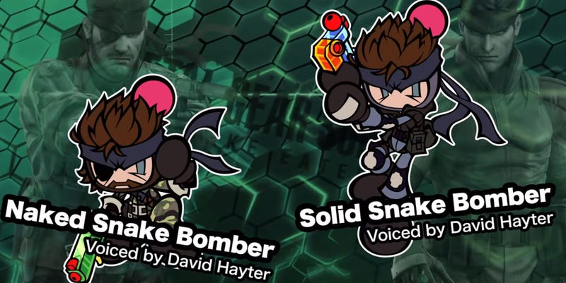 Illustration for article titled David Hayter Returns To Metal Gear For A Bomberman Game