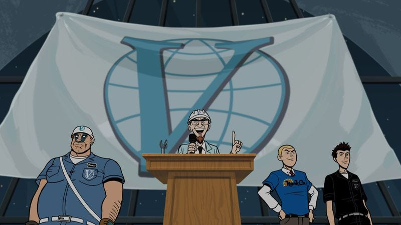 """Illustration for article titled The Venture Bros.: """"What Color is Your Cleansuit?"""""""
