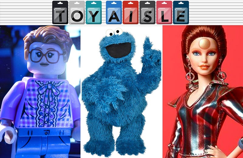 Illustration for article titled The Chance to Own Your Very Own Cookie Monster, and More of the Best Toys of the Week