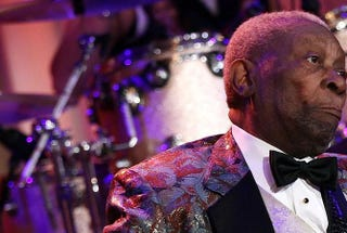 Blues legend B.B. King in 2012Win McNamee/Getty Images