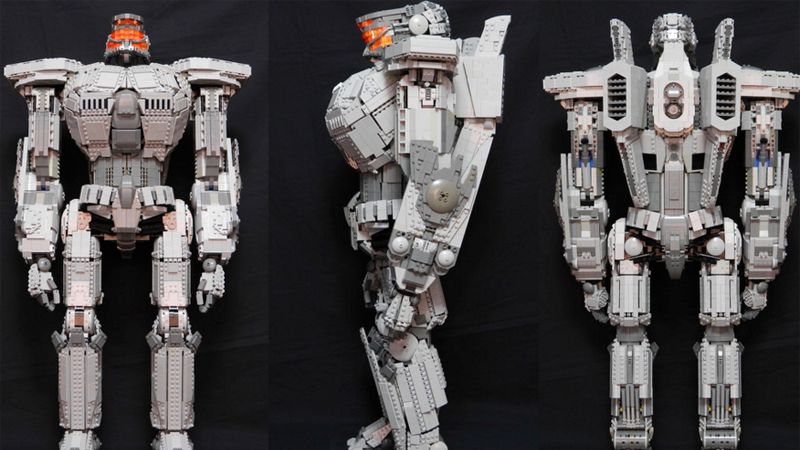5 000 Piece Pacific Rim Jaeger Would Smash Any Lego Town