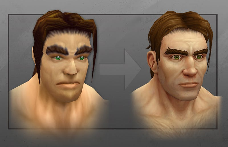 Illustration for article titled World Of Warcraft's Humans Now Actually Look Like Humans