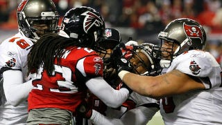 Illustration for article titled Are The Atlanta Falcons Really The Dirtiest Team In The NFL?