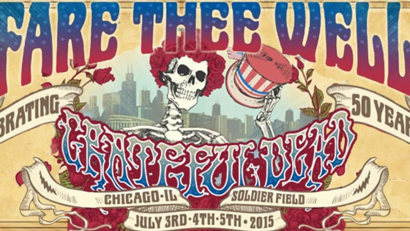 Illustration for article titled Win a Grateful Dead scarf, just in time for the band's Fare Thee Well tour