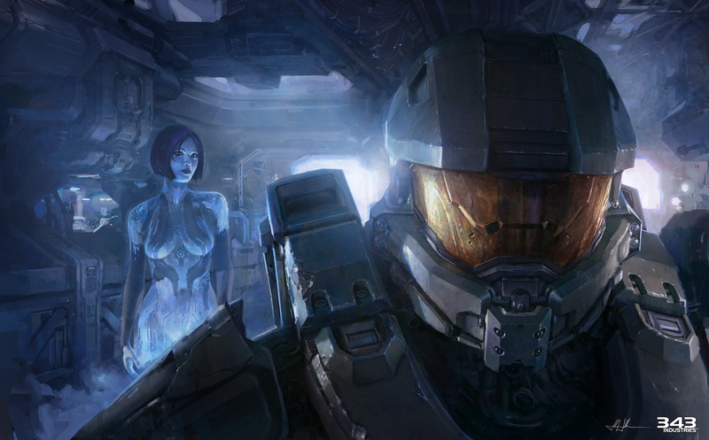 26 Terrific Pieces of Halo 4 Concept & Promotional Art