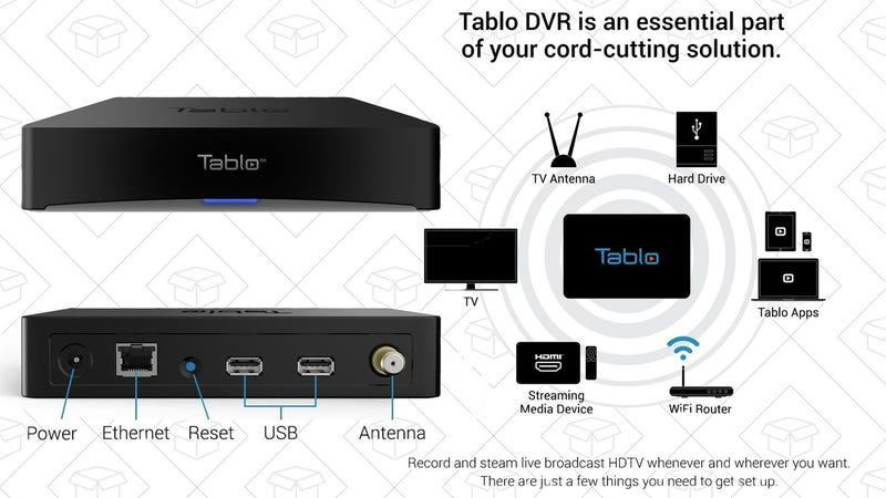Tablo 4-Tuner DVR, $188