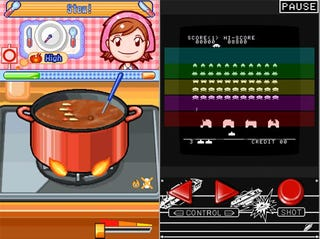 Illustration for article titled Taito Brings Cooking Mama, Space Invaders To iPhone